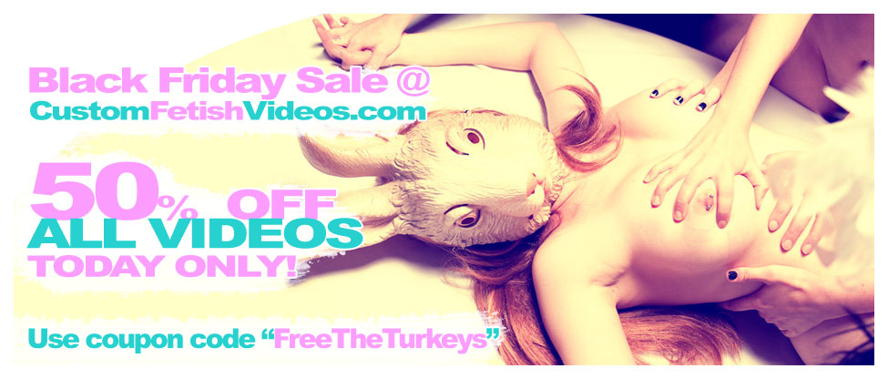 Fetish Video Sale!