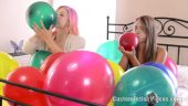 Custom balloon fetish video - Annalee Belle