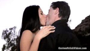 Custom kissing fetish video Nikki Daniels