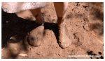 Sock fetish custom muddy socks Odette
