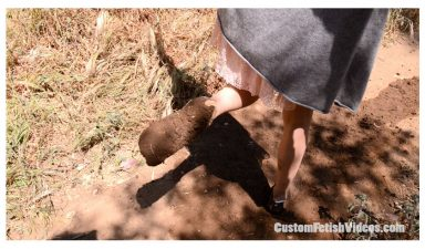 Odette muddy socks custom fetish video