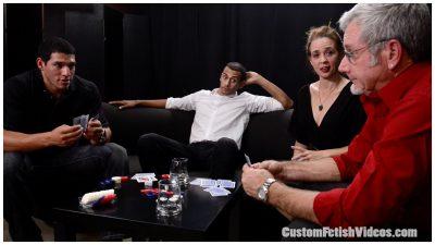 Swinger Sable Renae in a custom video being seduced