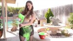 Gunge Pantyhose - Slimey Jay Taylor wears pantyhose and pours gunge all inside them