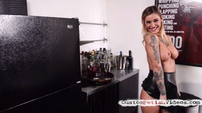 Hypno fetish Kleio Valentien - Sexy bartender is hypnotized by a magician
