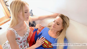 Hypno Fetish Video - Superhero Cali Carter is mesmerized by super villain Riley Reyes