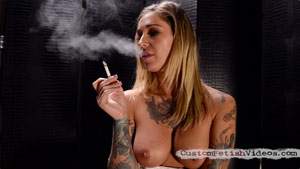 Smoking Fetish Kleio Valentien