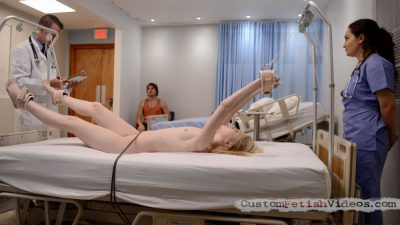 Medical Fetish - Lily Rader's Humiliation at the Doctor's Office