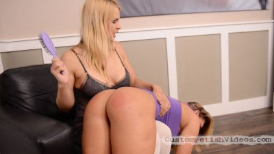 Cali Carter Spanking Fetish