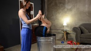 Kymberly Jane and Casey Calvert foot tickling fetish