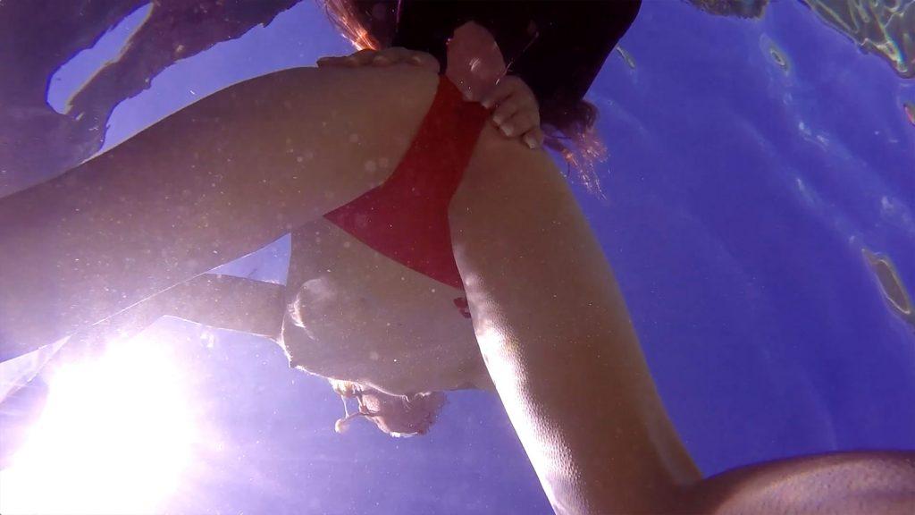 Underwater Fetish Wetlook: Submerged starring Pepper Kester and Odette Delacroix