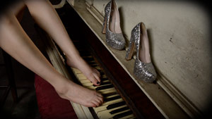 Casey Calvert Foot Fetish Piano