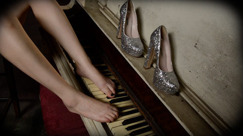 Casey Calvert Foot Fetish Piano