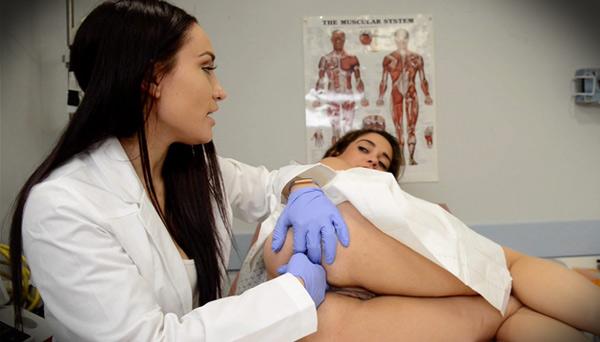 Medical Fetish Nursing School Exam - Gabriella Paltrova and Ziggy Star