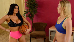 Romi Rain Riley Reyes booty basketball fetish