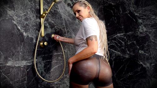 Nina Elle Wetlook Pantyhose