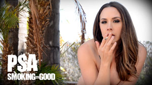 Chanel Preston Smoking Fetish Custom Video