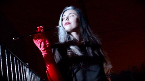 Casey Calvert is Cruella De Vil - Wet and Messy cosplay